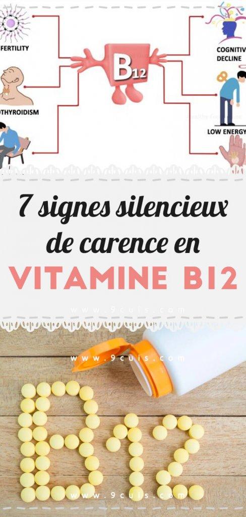 7 Signes Silencieux De Carence En Vitamine B12